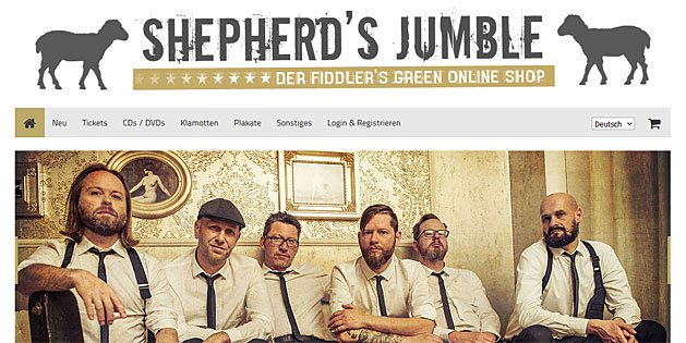 SHEPHERD'S JUMBLE - FIDDLER'S GREEN ONLINE SHOP